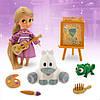 Кукла принцесса Рапунцель Дисней мини аниматоры Disney Animators mini Rapunzel
