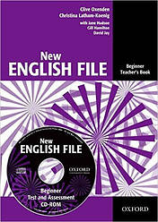 New English File Beginner Teacher's Book with Test and Assessment CD-ROM