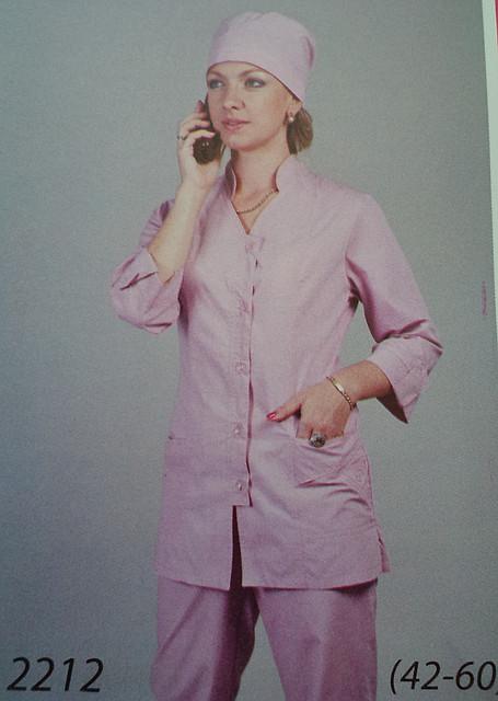 Медицинский костюм 2212 (батист)