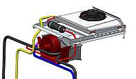 Кондиционер трактора МТЗ (С накрышным конденсатором)МТЗ 892,МТЗ 920,МТЗ 1025.2,МТЗ 1221.2,МТЗ 1523