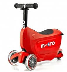 Самокат Mini Micro 2go Deluxe Red (Червоний)
