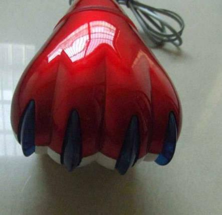 Ручной вибромассажер для тела Tiger Paw Лапа Тигра SL-8828 большой с двойными насадками, фото 2