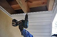 Подшивка свесов кровли (крыши)