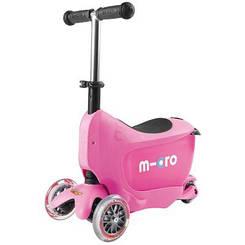 Самокат Mini Micro 2go Deluxe Pink (Рожевий)