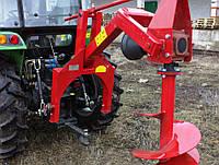 Ямобур садовый польский Wirax для трактора - 500 мм шнек