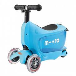 Самокат Mini Micro 2go Deluxe Blue (Синій)