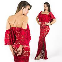 Платье 15545 (Красное)