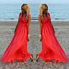 Платье женское длинное Лето пляж
