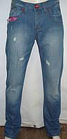 Модные синие джинсы мужские  Warren Webber (Италия)