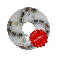 Пластмассовый алмазный однорядный шлифовальный круг для камня Ф160 мм. №0 (дельфин) на прижимные станки., фото 1