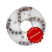 Пластмассовый алмазный однорядный шлифовальный круг для камня Ф160 мм. №1 (дельфин) на прижимные станки., фото 1