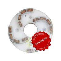 Пластмассовый алмазный однорядный шлифовальный круг для камня Ф160 мм. №3 (дельфин) на прижимные станки.