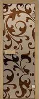 Стеклянная дверь для сауны с рисунком 80х200 Киев, Харьков, Одесса, Днепропетровск, Львов