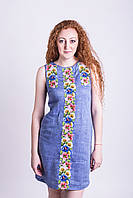 "Платье вышитое ""Віночок"" без рукавов ( PK13-100.12.0 ), фото 1"