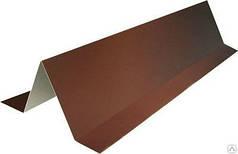 Планка снігозатримувач для покрівлі RAL 8017, коричнева