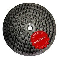 Алмазные резиновые полировальные пупырышки Инватех Ф320 мм. №5 для обработки камня.