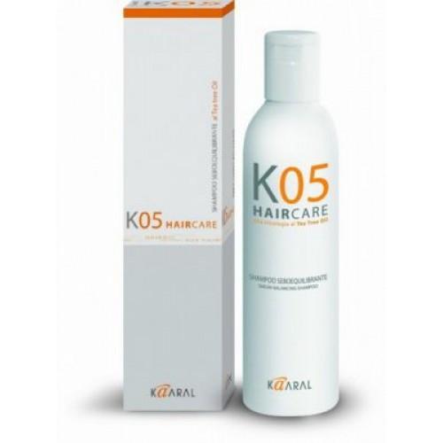 Kaaral K05 Sebum Шампунь для відновлення балансу секреції сальних залоз 250 мл.