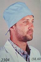 Мужской медицинский колпак 2304 (батист)