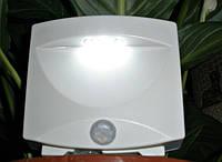 Автоматический LED светильник с датчиком движения Mighty Light. Видео., фото 1