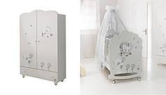 Комплект мебели для детской комнаты Baby Expert Serenata