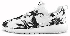 Женские кроссовки Nike Roshe Run Palm Trees Fake, найк роше ран