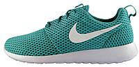 Женские кроссовки Nike Roshe Run Cyan Texture, найк роше ран