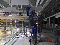 Установка подвесных потолков панелей