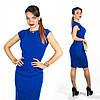 Синее платье 15544