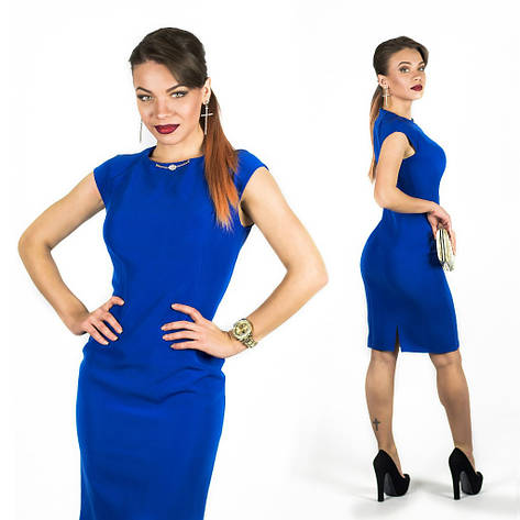 Синее платье 15544, фото 2