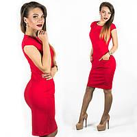 Красное платье 15543