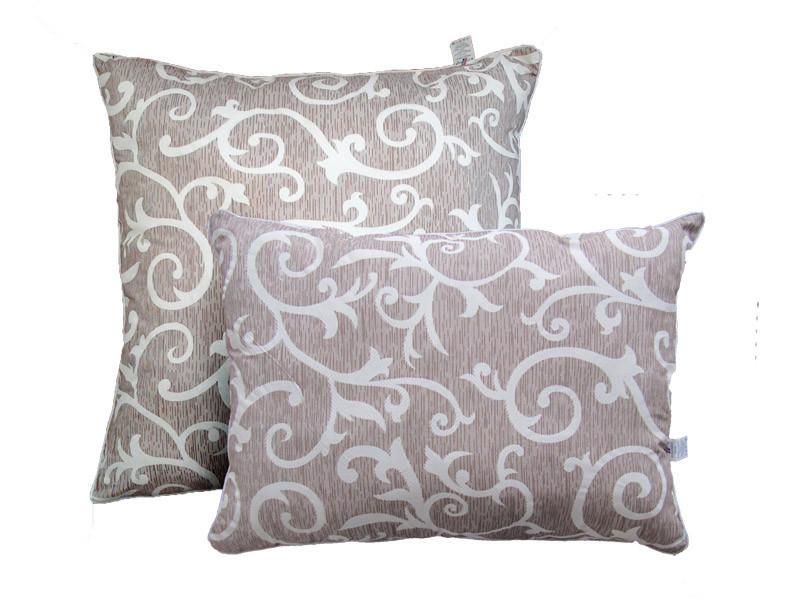 Подушка с шариковым силиконом, Орнамент2, бязь 100% хлопок (50х70 см.)