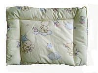 Подушка детская силиконовая, бязь, Мишки-тучки