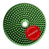 Алмазные резиновые полировальные пупырышки Инватех Ф250 мм. №6 для обработки природного гранита и мрамор.