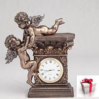 """Часы """"Играющие ангелочки"""" (17 см)"""
