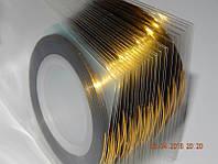 Лента для дизайна   золото