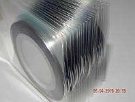 Лента для дизайна   серебро