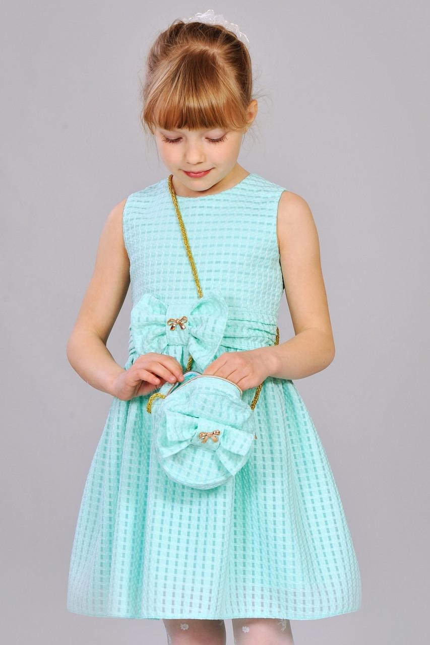 a5758fae9b0 Нарядное праздничное детское летнее платье с сумочкой. - Exclusive в  Хмельницком