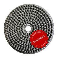 Алмазные резиновые полировальные пупырышки Инватех Ф250 мм. №9 для обработки природного гранита и мрамор.