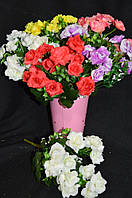 Роза белая, в-29см, 7 веток, 30/35 (цена за 1 шт. + 5 гр.)        , фото 1