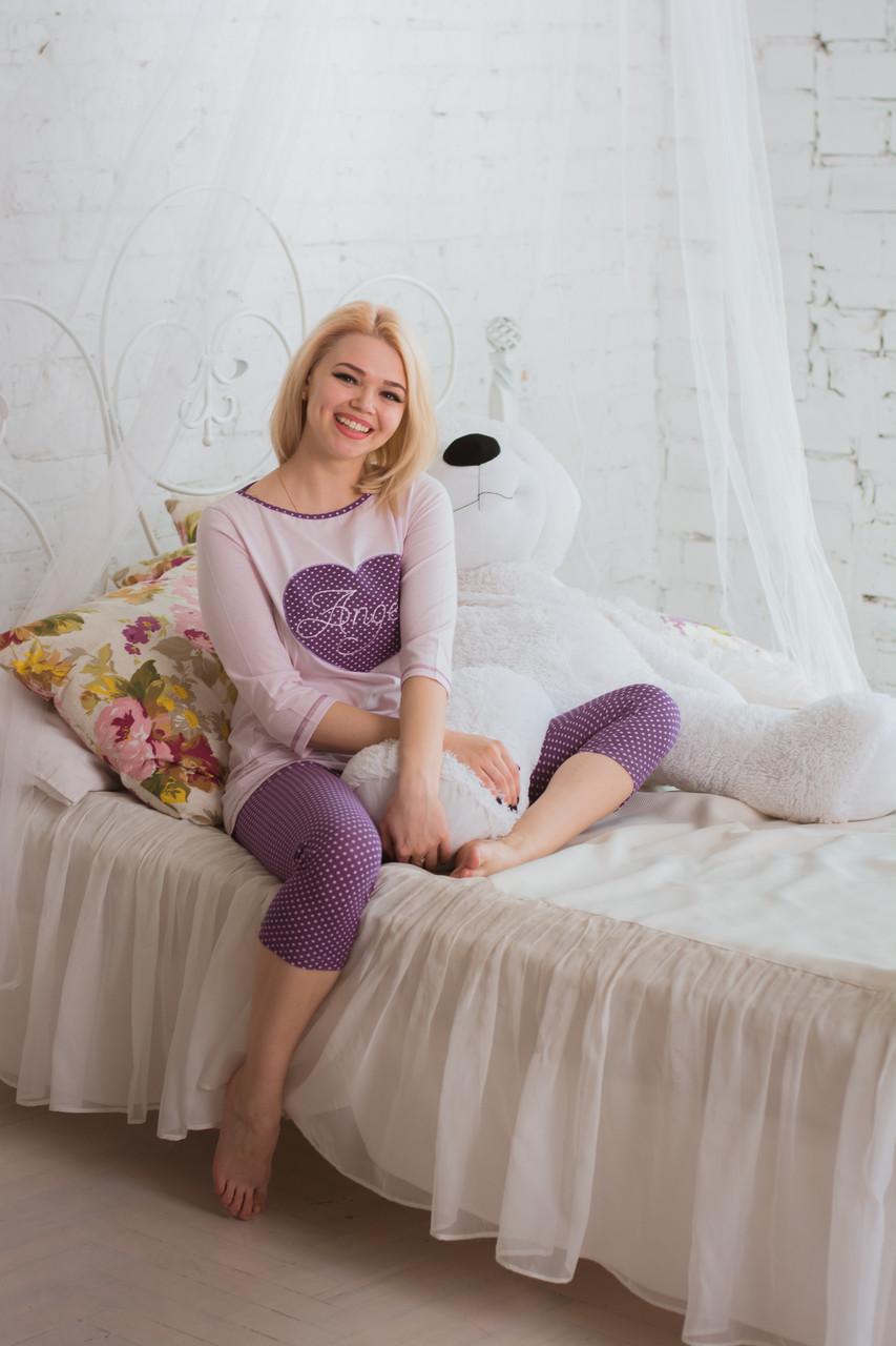Bono Женская пижама Angel фиолетовая 950505