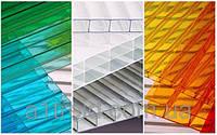Сотовые и монолитные поликарбонаты, прозрачные листы, салюкс.