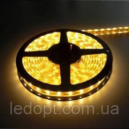 Светодиодная лента SMD3528 4,8W 60 LED/m IP20 желтый Yellow