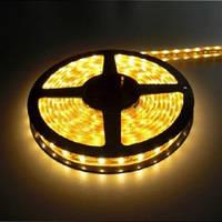 Светодиодная лента SMD3528 4,8W 60 LED/m IP65 желтый Yellow