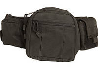 Милтек сумка-пояс Tactical Fanny Pack черная