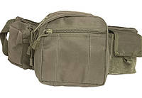 Милтек сумка-пояс Tactical Fanny Pack олива