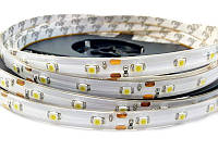 Светодиодная лента SMD3528 4,8W 60 LED/m IP65 в силиконе белый White 6000-6500k