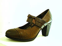 Кожаные туфли женские, фото 1