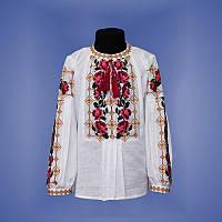Блуза для девочки с вышитыми Розами