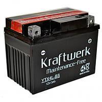 Аккумулятор мото Kraftwerk YTX4L-BS 3A/h 40A