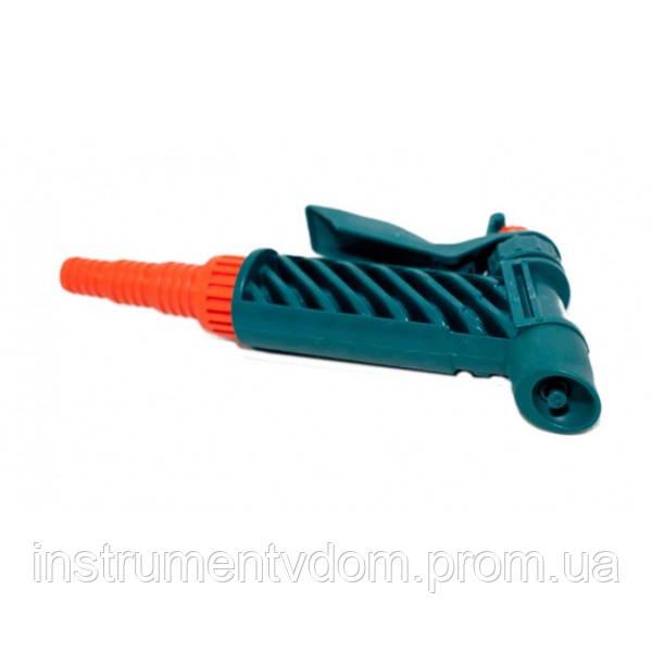 Пистолет-распылитель на шланг для полива (с фиксатором)